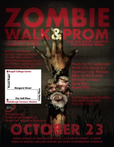 Kimberly Cummins organized the 2nd zombie walk featured in the poster above. Rouses Point Social Media Marketing Freelance Around Me