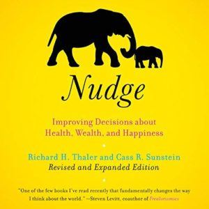 book cover of Nudge