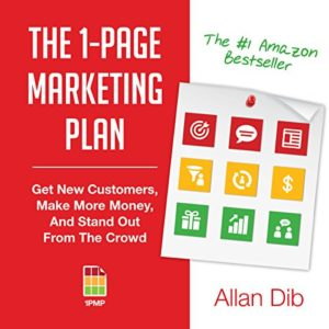 book & audiobook of the one page marketing plan