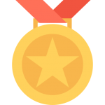 medal for quality content