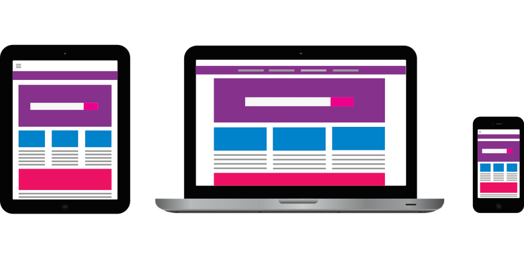 Double check that website is responsive on tablet, desktop, and mobile devices