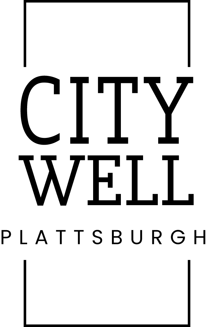 Logo Designer hey im kim image for City Well Plattsburgh