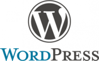 website design platform wordpress logo